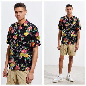 UO Liam Organic Floral Button Down Shirt